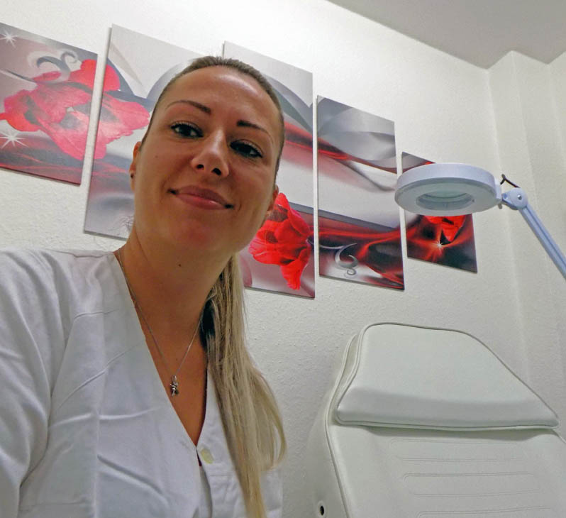Dermaroller-Behandlung